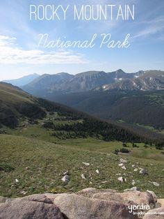 Yardia Travels: Rocky Mountain National Park