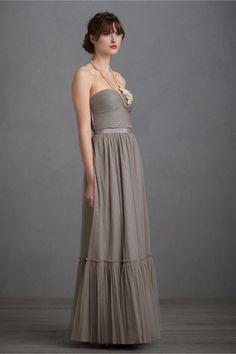 bridesmaid dress perfect for the boho wedding from @BHLDN Weddings