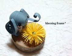 blessing frameのくいりんぐノート:ぞうさん。