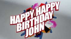 Happy Birthday John!