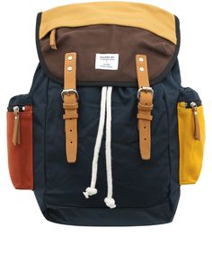 Sandqvist Multicoloured Lars-Göran Backpack | Men's Bags by Sandqvist | Liberty.co.uk