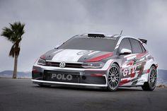 Bemutatták az új VW Polo rally változatát: VW Polo GTI R5