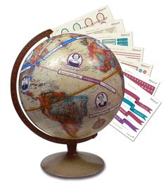 A globe for your genealogy! LOVE IT!