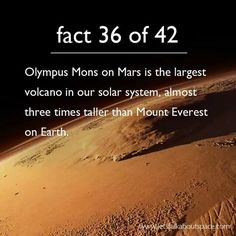 42 Facts About Space, A Homage to Douglas Adams. http://m.imgur.com/a/HzrWD