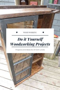 DIY Woodworking Projects Simple For Beginners