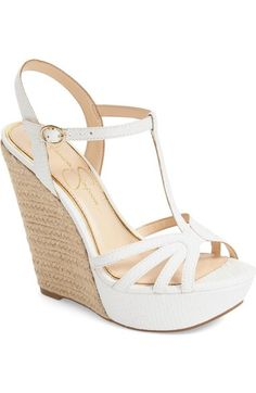 Jessica Simpson 'Bevin' Espadrille Wedge Sandal (Women) available at #Nordstrom