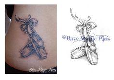 ballet+tattoos | Ballerina shoes by ~anchica on deviantART