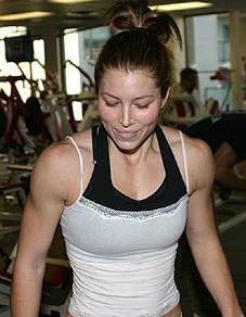 How to get a body like Jessica Biel: this is a really unflattering picture of her but one of the best articles ive read. do you self a favor.. READ THIS
