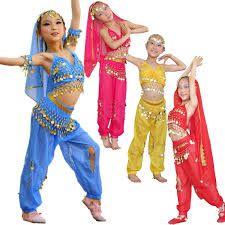 Traje hindu mujer para bailar