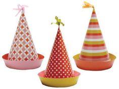 Sweet Soiree Party Hats $7.20 https://www.magicalparties.net/sweet-soiree-party-hats