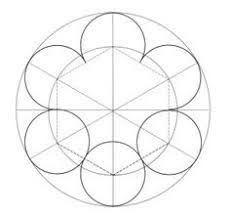 Image Result For Como Dibujar Mandalas Con Compas Geometric Drawing Sacred Geometry Patterns Geometric Pattern Circle