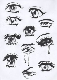 drawing eyes ✤ || CHARACTER DESIGN REFERENCES | Find more at https://www.facebook.com/CharacterDesignReferences if you're looking for: #line #art #character #design #model #sheet #illustration #expressions #best #concept #animation #drawing #archive #library #reference #anatomy #traditional #draw #development #artist #pose #settei #gestures #how #to #tutorial #conceptart #modelsheet #cartoon #female #lady #woman #girl || ✤