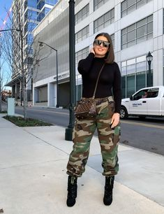 Camo Pants Outfit, Sweatpants Outfit, Military Pants, Fall Winter Outfits, Summer Outfits, Chic Outfits, Street Style, Blogger Style, Style Blog