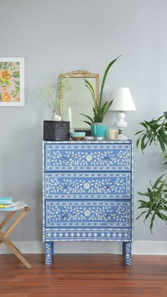 We Hacked the $35 RAST Dresser Two Ways: Happy Modern and Bone Inlay — Video from Apartment Therapy ~ETS #DIY #modernfurnitureikea