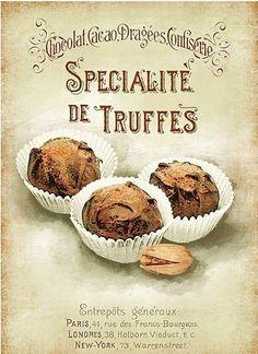 specialite de truffes