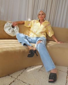 Introducing the Spring and Summer Outfit Ideas That Take Minimal Effort Dinner Outfits, Summer Outfits, Sunshine Reggae, Burberry, Topshop Joni, Jean Vintage, Magazine Mode, Love Jeans, Double Denim