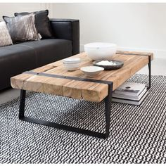 Majestic 6 Best DIY Coffee Table Design Ideas For Your Inspiration The coffee table is one of the most important home furniture, its function is not only to complement the chair in the living room. The presence of a u. Diy Coffee Table, Decor, Industrial Coffee Table, Teak Coffee Table, Coffee Table Inspiration, Furniture, Table Inspiration, Coffee Table Wood, Coffee Table