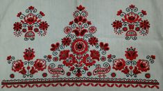 Hungarian embroidery. One of my grandmother's work.