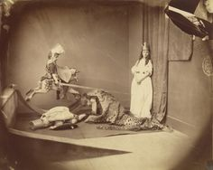 "Xie, Herbert, Hugh, and Brook Kitchin in ""Saint George and the Dragon,"" June Lewis Carroll's Portraiture - The New Yorker Lewis Carroll, Adventures In Wonderland, Alice In Wonderland, Saint George And The Dragon, People Poses, Antique Photos, Vintage Photos, The New Yorker, Metropolitan Museum"