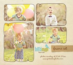 frames & overlays | Photoshop templates for photographers by Birdesign
