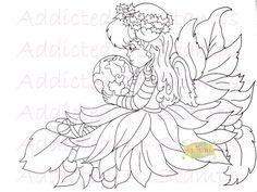 Peace On Earth Digi Doodle Download U Color by Digidoodlestampart, $3.99