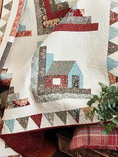 Hearth & Home Template | Nicola Dodd | United Kingdom | CakeStand Quilts