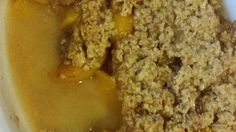 Quick and easy peach crisp is the perfect dessert for any night of the week.