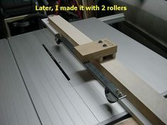 Hold-down rollers for TS