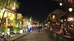 Along Tran Phu Street by night - Hoi An