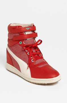 PUMA 'Sky Wedge' Sneaker (Women) available at #Nordstrom I WANT this shoe!