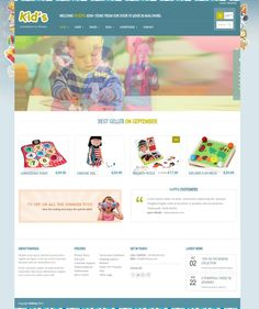Kid shop - WooCommerce theme - http://wpmosaic.com/kidshop/