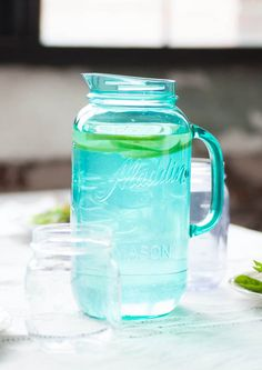 Love the color and style of this pitcher.