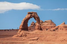 The Delicate Arch at Arches National Park
