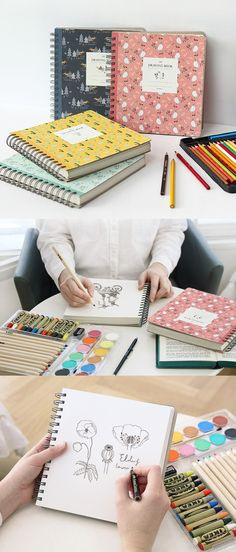Bring your creativity to life with the Willow Pattern Drawing Book! 240 pages of excellent 80g paper and the perfect size makes this an ideal book for your design and illustration.