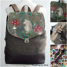 Kézzel festett sünis hátizsák Fashion Backpack, Backpacks, Bags, Handbags, Backpack, Backpacker, Bag, Backpacking, Totes