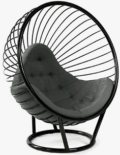 British designer Ben Rousseau has launched this latest furniture collection that pays homage to the original 1968 bubble chair by Eero Aarnio. Iron Furniture, Furniture Logo, Steel Furniture, Bespoke Furniture, Industrial Furniture, Home Furniture, Furniture Design, Furniture Cleaning, Business Furniture