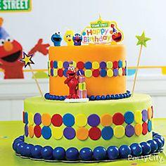 Elmo Fondant Cake How To