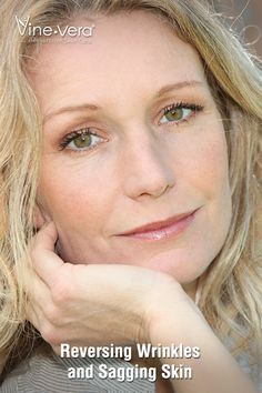 Vine Vera helps you reverse wrinkles and sagging skin
