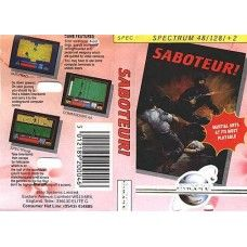 Saboteur! for Spectrum by Encore on Tape