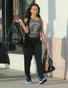 Karrueche Tran Thinks Rihanna Is 'Rude' For Dissing ChrisBrown