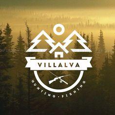 логотип для ВиллаЛьва. Беларусь. экологический отдых. туризм. Рыбалка.Охота…