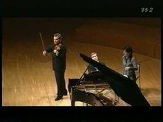 Franck - Sonata piano and violin - 1st movement - Nikolai Lugansky, Vladimir Repin. Cesar Francs's sonata for piano and violin