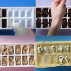 The ice cube tray hacks are amazing!8 Ways to Hack an Ice Cube Tray The ice cube tray hacks are amazing!8 Ways to Hack an Ice Cube Tray