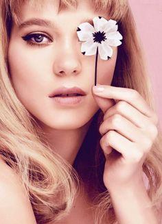 Lea Seydoux for Prada Fragrance Campaign 2014 by Steven Meisel