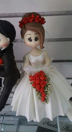 Fine Porcelain China Diane Japan Value Unusual Wedding Cakes, Beautiful Wedding Cakes, Crochet Waffle Stitch, Porcelain Insulator, Clay Fairy House, Porcelain Dolls For Sale, Ballerina Cakes, Fondant Cupcake Toppers, Bride Dolls