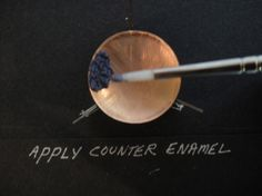 TORCH FIRED ENAMEL TUTORIAL #1 with CHRIS HIERHOLZER - - Grains of Glass.  Fantastic tutorial.