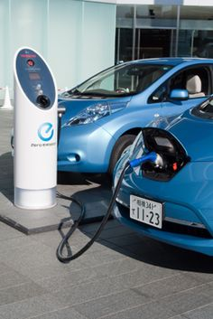 Hybrid / Electric Car Charging Station (charging station)