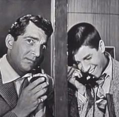 Dean Martin & Jerry Lewis in one of my favorite sketches on the Colgate Comedy Hour.