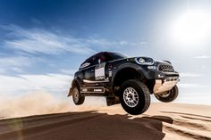MINI premieres the next big thing in MINI Motorsport's distinguished history, the all new MINI John Cooper Works Rally. First competitive foray for the new star is the 2017 Dakar Rally. Mini Countryman, Peugeot, Rally Dakar, Honda, Automobile, Upcoming Cars, John Cooper Works, Bike News, Bmw Models
