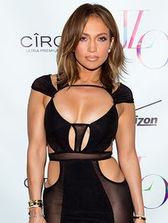 Jennifer Lopez celebrated her 46th birthday over the weekend. (Yep, we can't believe it, either.) And she must have been feeling nostalgic, because she paired her sheer black dress with a makeup look that, for a long time in the '90s and early aughts, was patently J. Lo: bold lip liner.